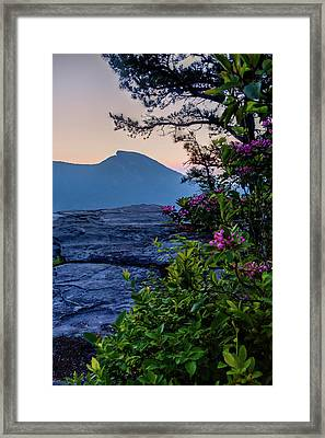 Hawksbill Mountain Framed Print by Rob Travis