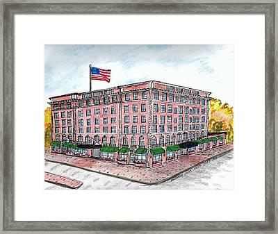 Hawthorne Hotel Framed Print