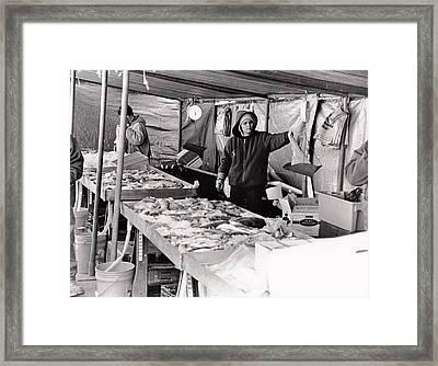 Hay Market  Framed Print