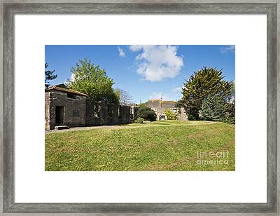 Hayle Mill Pond Amphitheatre Framed Print by Terri Waters