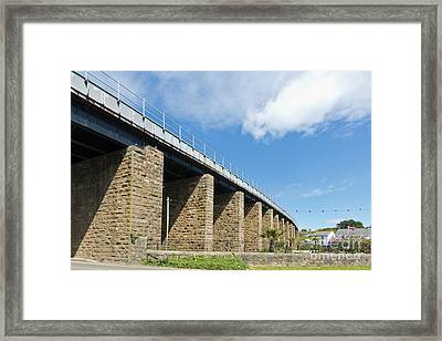 Hayle Railway Bridge Framed Print by Terri Waters