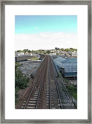 Hayle Railway Framed Print by Terri Waters