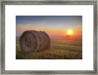Hayrise Framed Print