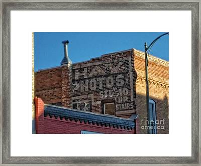 Hay Photo Studio Framed Print
