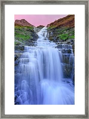 Haystack Creek Framed Print