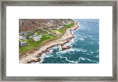 Hazard Rocks, Narragansett  Framed Print