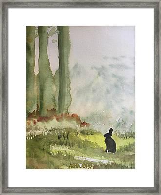 Hazel-rah Framed Print