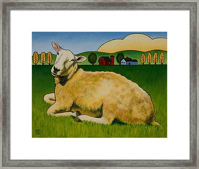Hazel Framed Print by Stacey Neumiller