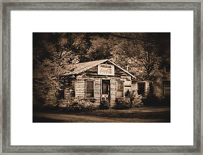 Hazel's Cafe Framed Print by A R Williams