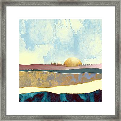 Hazy Afternoon Framed Print