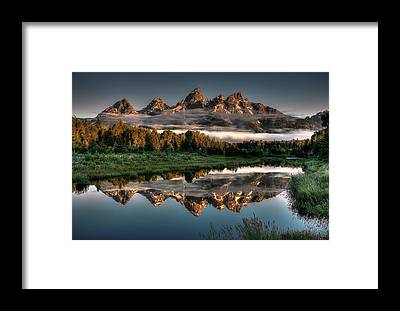 Wyoming Framed Prints