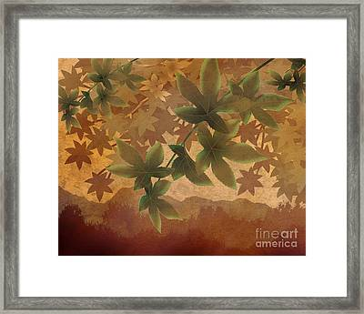 Hazy Shades - Morning Version Framed Print by Bedros Awak