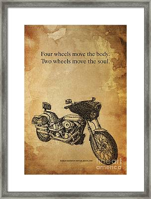 Hd Quote Framed Print by Pablo Franchi