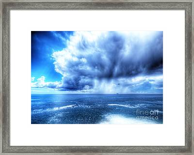 Hdr Storm Framed Print by Stefano Gervasio