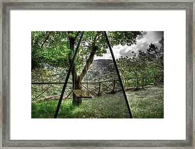 Hdr Swing Framed Print