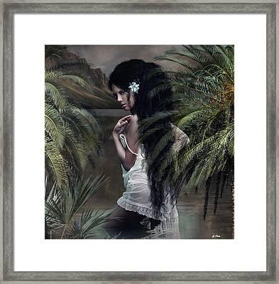 He Aloha Mau Kou 002 Framed Print by G Berry
