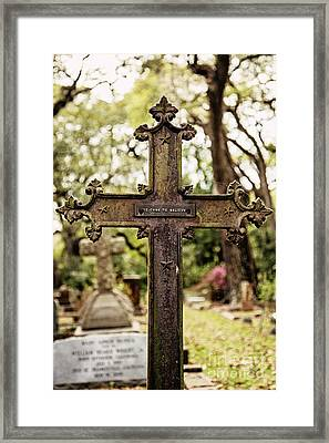 He Came To Believe Framed Print by Scott Pellegrin
