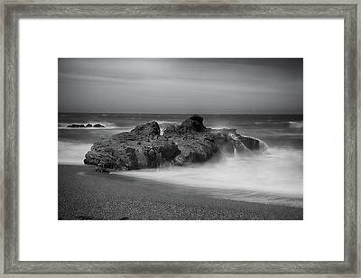 He Enters The Sea Framed Print
