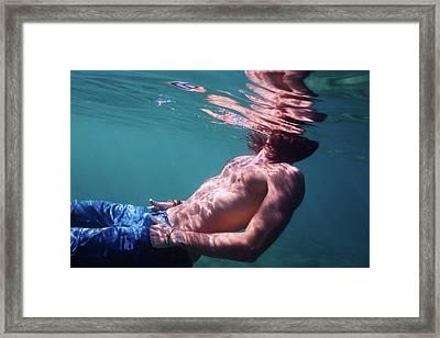 He Framed Print