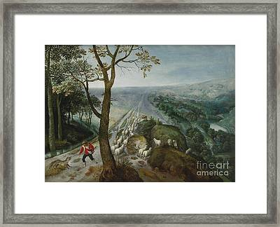 he Good Shepherd Framed Print by MotionAge Designs