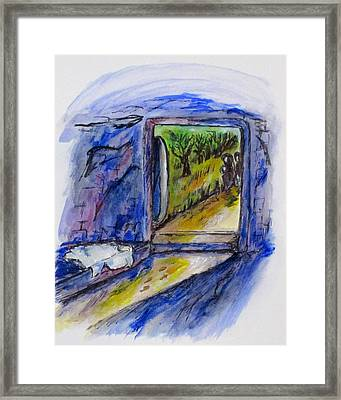 He Is Gone Framed Print by Clyde J Kell