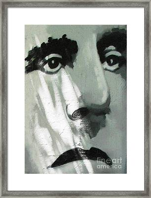 Framed Print featuring the photograph He Is Not Amused by Ethna Gillespie