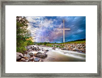 He Is Risen Framed Print by James BO Insogna