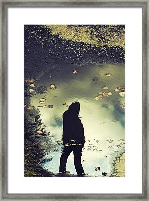He Framed Print by Art of Invi