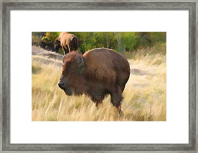 He Just About Got Me Framed Print