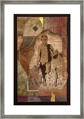 He Knows There Must Be More Framed Print by Katherine Weston