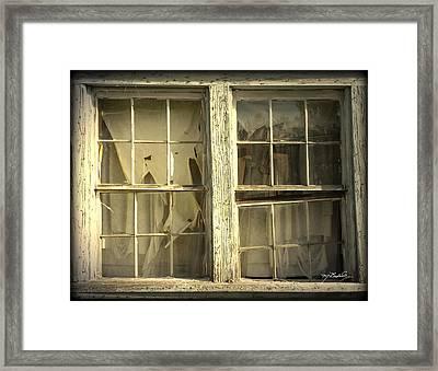 He Lives Here Framed Print by Melissa Wyatt
