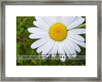 He Loves Me Quote Framed Print by JAMART Photography