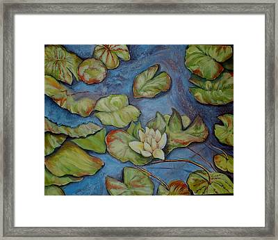 He Restores My Soul Framed Print by Sue Ann Rybarczyk