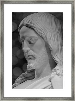 He Shall Be Meek Framed Print by Greg Collins