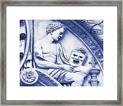 He Framed Print by Slade Roberts