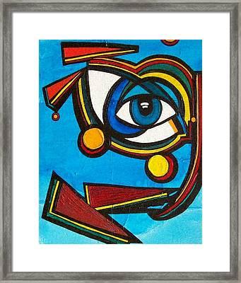 HE Framed Print by Valerie Wolf