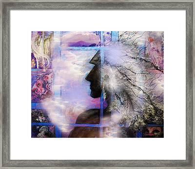 He Waits II Framed Print by Patricia Motley
