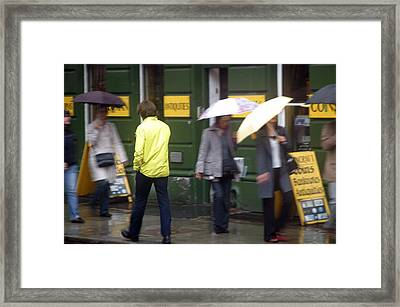He Walks Among Us Framed Print by Jez C Self