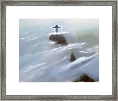 He Watches Over Us Framed Print by Darren Yarborough