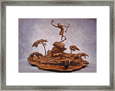 He Who Saved The Deer Complete Framed Print