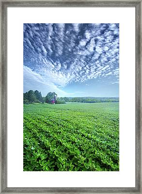 He Who Sows Bountifully Will Also Reap Bountifully Framed Print