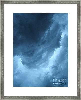 Framed Print featuring the photograph Head For Cover by Angie Rea