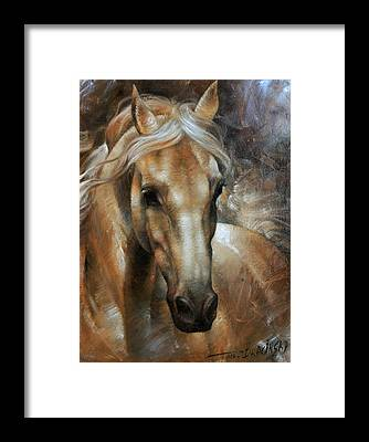 Horse Head Framed Prints