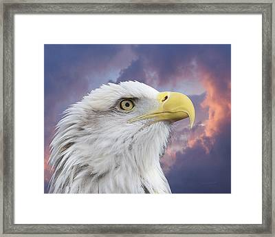 Head In Clouds Framed Print by Ernie Echols