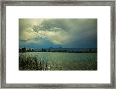 Framed Print featuring the photograph Head In The Clouds by James BO Insogna