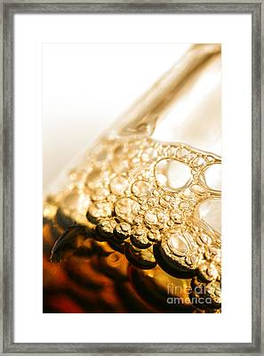 Head Of Beer Framed Print by Jorgo Photography - Wall Art Gallery