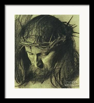 Religious Drawings Drawings Framed Prints