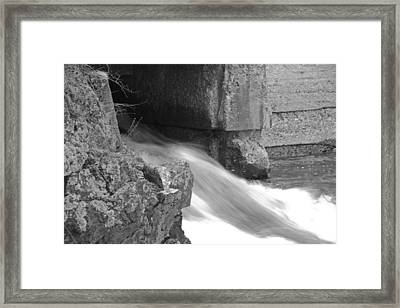Head Of The Tide Spring Framed Print