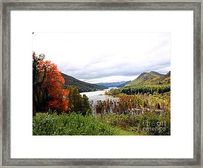 Head Of Watauga Framed Print
