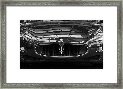 Head On Framed Print by Dennis Hedberg